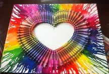 FOR MY INNER ARTIST! ✌ / Fun and easy DIY art projects.  / by Beverly West