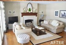 {Home}  Living & Family Rooms / Looking at what I should do for my home / by Becky @ Patchwork Posse