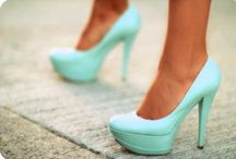 GIVE A GIRL THE RIGHT PAIR OF SHOES AND SHE CAN CONQUER THE WORLD!  / Shoes that I would love to own!  / by Beverly West