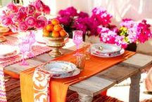 Creative Entertaining / Entertaining, Tablescapes, Creative Touches for Entertaining
