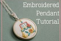 {Sewing} Embroidery & Applique / Grab your needle and thread and sew up some wonderful embroidery pieces! / by Becky @ Patchwork Posse