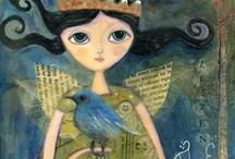 She Canvas Art ++