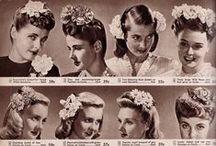 Beauty - Coiffure - Hair Styles / Vintage Hair Inspiration