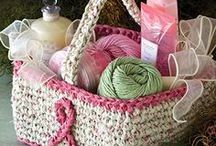 All Crochet--Bags & Baskets / Crochet board for bags and baskets / by Frann Bonomo