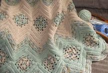 All Crochet--Afghans, Lap Robes & Pillows / A crochet board for Afghans and Pillows / by Frann Bonomo