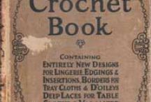 All Crochet--Vintage Crochet Books / Mostly vintage Crochet books / by Frann Bonomo