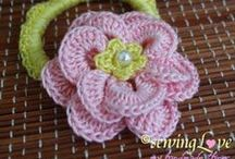 All Crochet--Flowers, Motifs, etc. / Crochet board for Flowers and small motifs / by Frann Bonomo