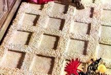 All Crochet--Rugs / Crochet Rugs new and vintage patterns / by Frann Bonomo