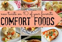 Recipes -- Comfort Food / Favorite Comfort Food / by Frann Bonomo