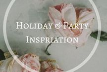Holiday & Party Inspiration / The best ideas from around the web of holiday & party decor, printables and recipes.  If you are a blogger: request an invite at sarah@glitterandpearl.com.  Please keep to the theme of the board and family friendly only.