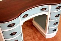 DIY- PAINTING & REPAIR / Tips & Ideas for Wood Furniture / by Louise