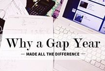 To gap year, or not to gap year... / by Sarah Collins