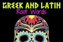 Greek/Latin Roots