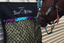 EcoNets / Twisted knotted hay nets that Horses & Owners love using. Durable, long lasting & designed by horse people ;))