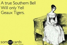 LSU TIGERZZZ / by Brittany Coumbe