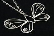Necklaces / Monica Fiorella Necklaces.  Originally designed and crafted.