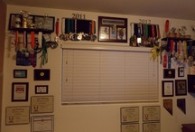 Some of My Finisher Medals and Awards