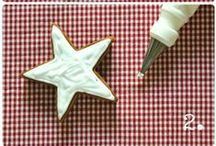 Frosting recipes and tips / by Peggy Jones Para