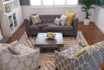 Living room / by Lisa Wikstrom