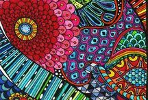 INSPIRE ZENTANGLE / by Esther Sanchez Mateu