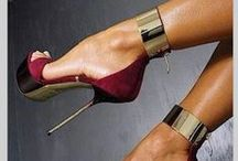 """ Sexy Shoes "" / Share all kinds of shoes that you find sexy. High heels, flats, sandals, stilettos etc.,  Please 5 Pins At A Time...."