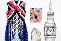 A Guide to the Fashion Capitals: London Calling / A hotbed of creative talent and home to some of the brightest young designers, make like a local and explore London in an eclectic mix of eye-popping mix of styles.  Shop Now > http://yoox.ly/1FkBC3P / by YOOX.COM Official Pinterest Page