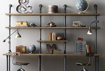 Industrial Pipe Furniture / by Shelley Pullis