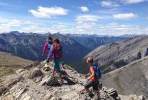 Canadian Rockies / Hiking, outdoor sports, and travel across the Canadian Rockies