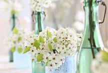Nice centerpieces / by Una cucina tutta per sé (Blog)