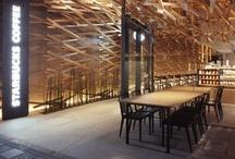 Interiors cafes, restaurants
