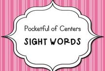 Sight Words in Kindergarten / Ideas for teaching sight words in kindergarten