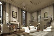 The Huntington Residences / Interiors Designed by Andrea Kantelberg