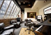 Music Studio Ideas / For my first interior design job :)