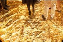 gold in art / gold artworks // obras de oro