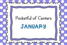 January in Kindergarten / Classroom ideas for January