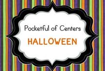 Halloween in Kindergarten / Halloween ideas for the kindergarten classroom