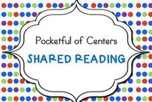 Shared Reading in Kindergarten / Classroom ideas for shared reading