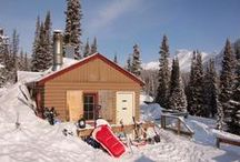 Family Wilderness Hostels / Traveling to Wilderness Hostels in the Canadian Rockies