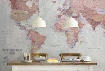 Carte / Planisphère / World map / Carte / Planisphère / World map