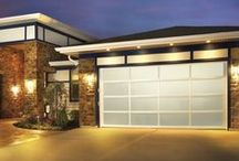 Aker Doors - Glass or Lucite Garage Doors & Aker Doors (akerdoors) on Pinterest