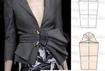 Special sewing ideas / sewing ideas,  fabric manupilation