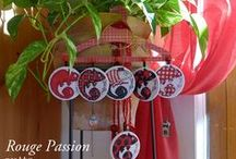 Challenge Rouge Passion / Challenge Miguel Rouge Passion : réalisez un présentoir à bijoux avec les 6 Miguels suivant et tenter de gagner 10€ de réduction sur notre prochain kit Misstigri White Peacock