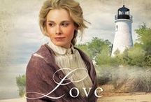 Novel: Love Unexpected / Bethany House, December, 2014: All Emma Chambers ever wanted was a home, but when her steamboat sinks just outside Presque Isle, she's left destitute and with no place to stay.  An unlikely solution arises when the lighthouse keeper arrives in town. He's just lost his wife and is having a difficult time caring for his child. So a traveling preacher gets the idea that the keeper and Emma might be the answer to each other's dilemma.