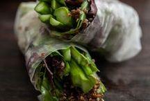 Recipes....springrolls/wraps vegan