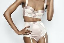 Lingerie... Silk and/or satin