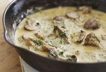 Recipes...mushroom/champignon