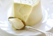 Recipes...panna cotta/ bavroise
