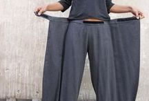 Origami / wrap trousers..