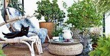 Jardin urbain / Décorer, végétaliser et aménager son balcon, sa terrasse, sa cour d'immeuble.