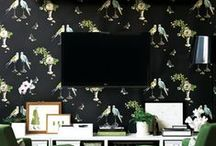 Fabric/Wallpaper / by the Queen City Style